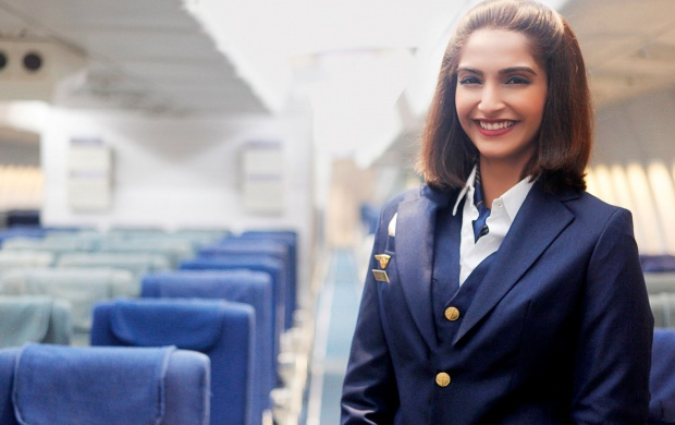 Sonam Kapoor As Neerja Bhanot (click to view)