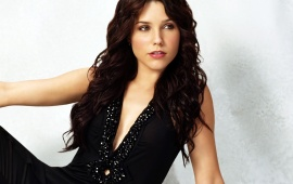 Sophia Bush Black Dress