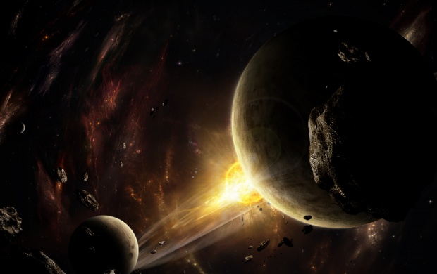 Space Asteroids Planets (click to view)