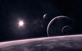 Space Celestial Bodies