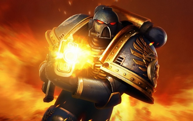 Space Marines Warhammer (click to view)