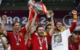 Spain Euro 2012 Champions