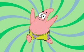 Spongebob Green Background