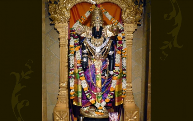 Sri Balaji Statue (click to view)