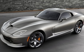 SRT Viper GTS Anodized Carbon 2014