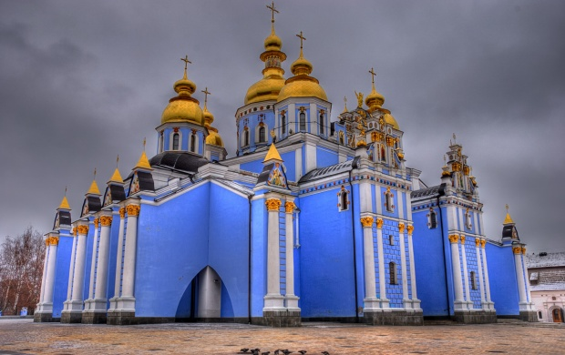 St. Michael's Golden Domed Monastery (click to view)
