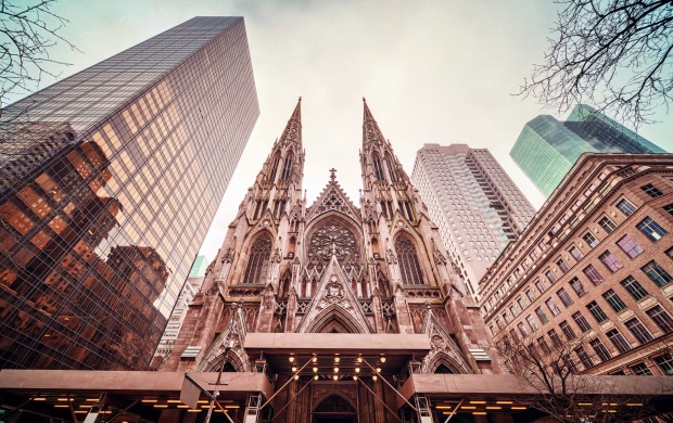 St. Patrick's Cathedral New York (click to view)