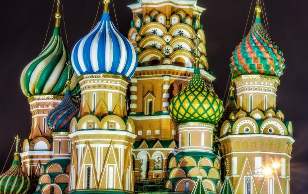 St Basil's Cathedral Moscow Lighting (click to view)
