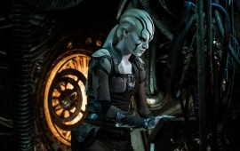 Star Trek Beyond Movie Jaylah Stills