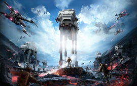 Star Wars: Battlefront Art