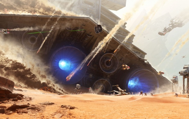 Star Wars Battlefront Battles Of Jakku (click to view)