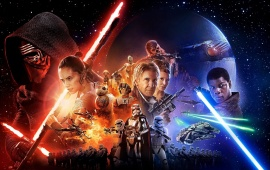 Star Wars Episode VII All Character