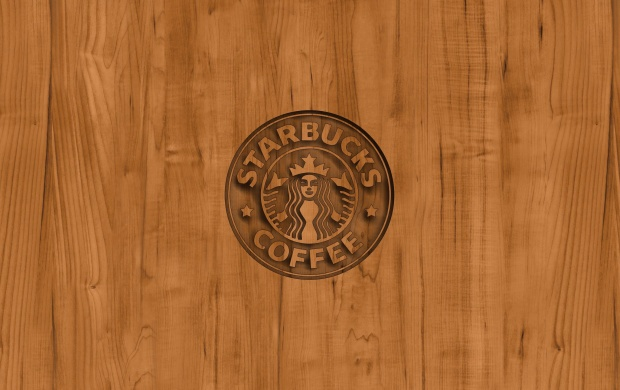 Starbucks Coffee Logo Wood (click to view)