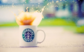 Starbucks Coffee Splash