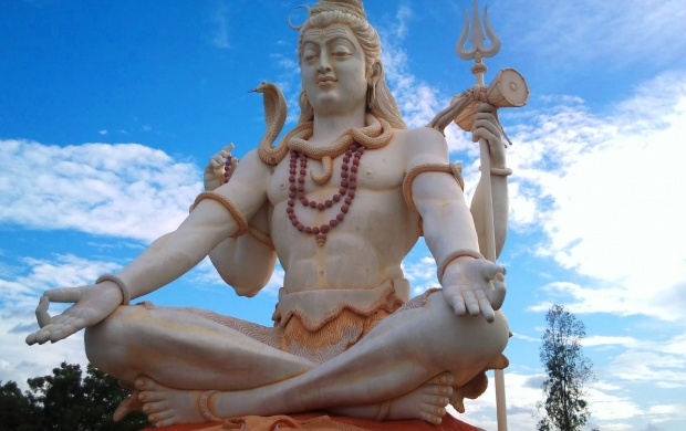 Statue Of Lord Shiva (click to view)