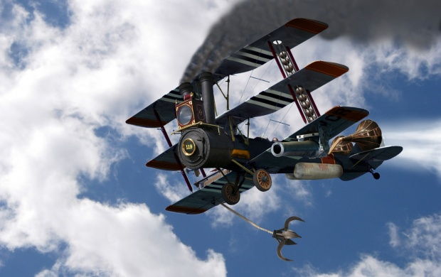 Steampunk Aircraft (click to view)