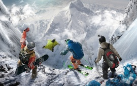 Steep Key Art