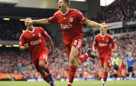 Steven Gerrard As Liverpool