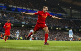 Steven Gerrard Liverpool Football Player