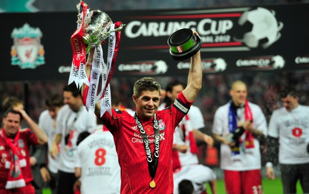 Steven Gerrard Win Cup (click to view)