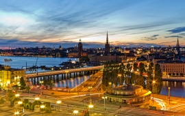 Stockholm Sweden Evening