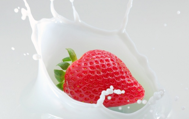 Strawberries And Milk (click to view)