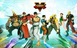 Street Fighter V All Fighters