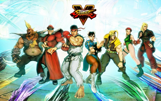 Street Fighter V All Fighters (click to view)