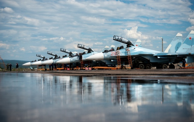 Su-30SM Russian Fighter (click to view)