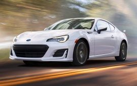 Subaru BRZ Facelift Hero 2017
