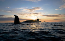 Submarine Project 955 Russia