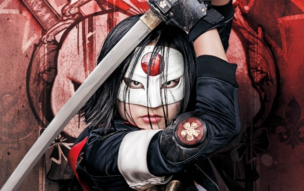 Suicide Squad Katana Arrow Poster (click to view)