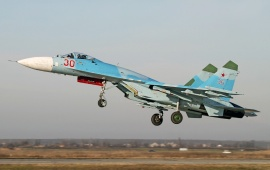 Sukhoi Su-27 P Flanker Fighter