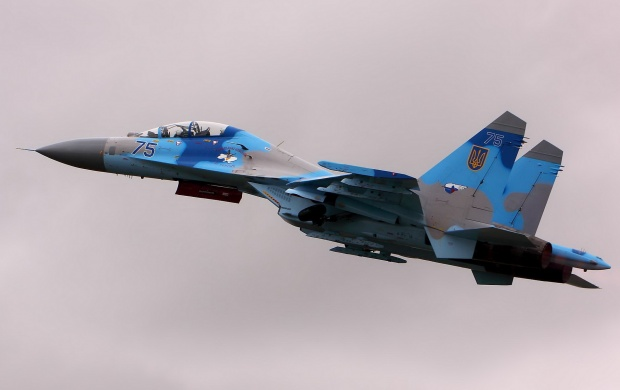 Sukhoi Su-27 Ukrainian Air Force (click to view)