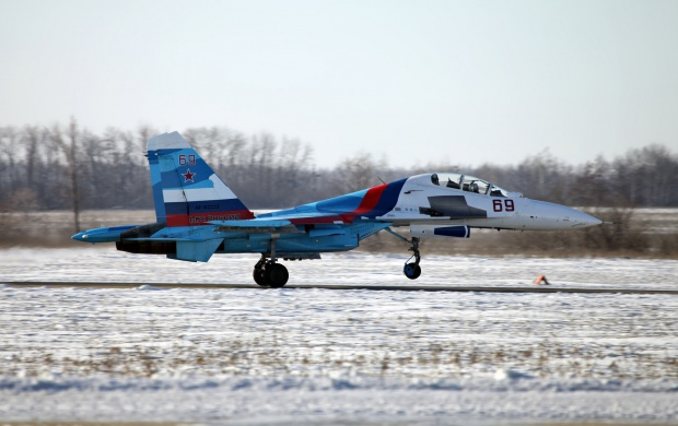Sukhoi Su-30 Russian Air Force (click to view)