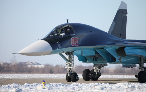 Sukhoi Su-34 Back (click to view)