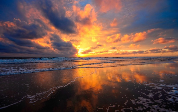 Summer Beach Sunrises (click to view)