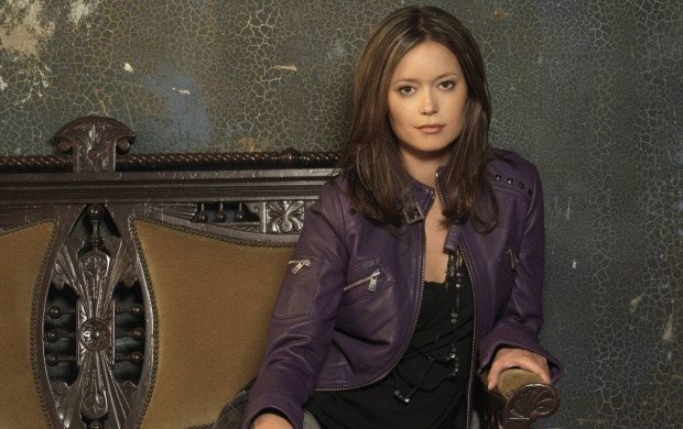 Summer Glau Purple Jacket (click to view)