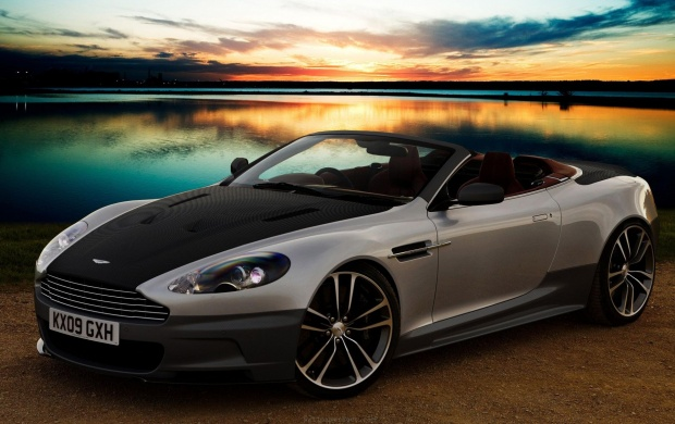 Sunset From Aston Martin DB9 Cabrio (click to view)