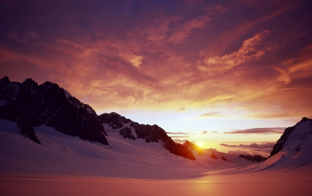 Sunset From Ice Mountain (click to view)