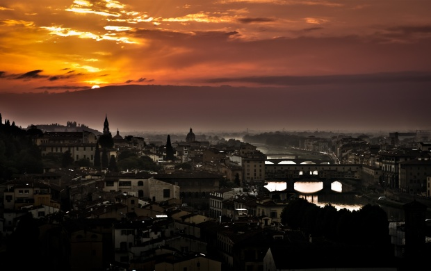 Sunset In Florence (click to view)