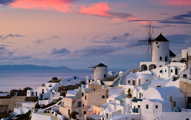Sunset In Oia Greece (click to view)