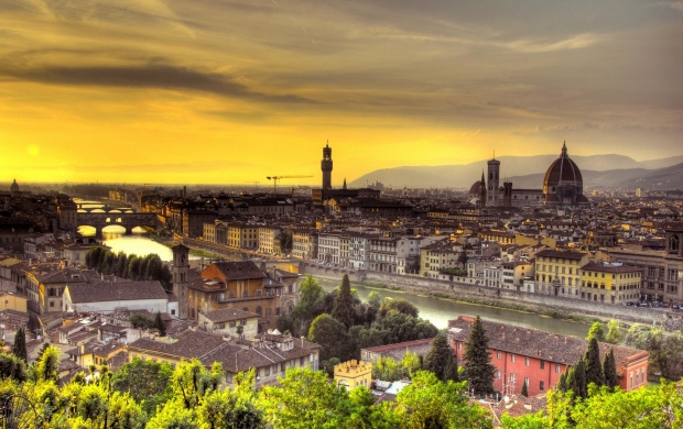 Sunset Italy Florence (click to view)