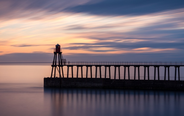 Sunset On The Pier (click to view)