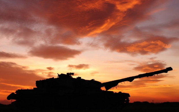 Sunset Tank Background (click to view)