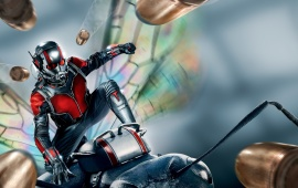 Superhero Ant-Man 2015