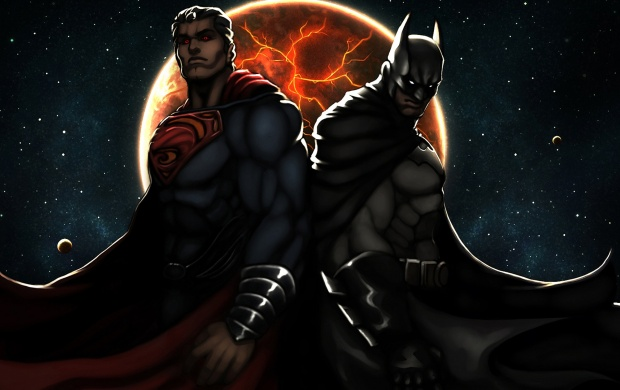 Superman Batman Art (click to view)