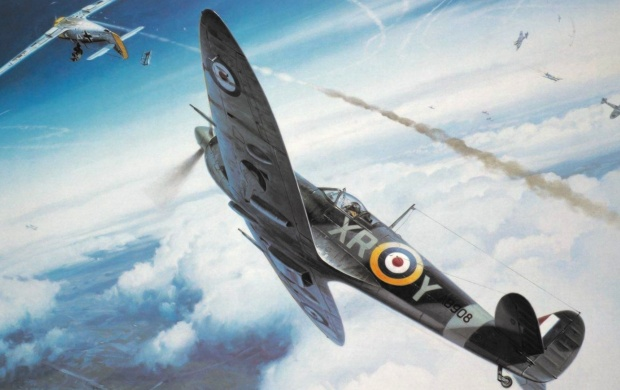 Supermarine Spitfire Art (click to view)