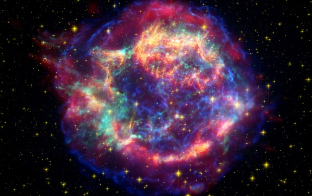 Supernova Remnant (click to view)