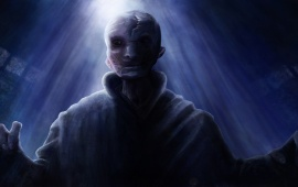 Supreme Leader Snoke Art